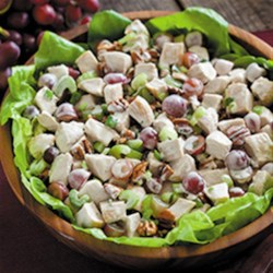 Napa Valley Chicken Salad Recipe - Put a zesty new twist on your summertime salads by adding Hidden Valley(R) Original Ranch(R) Dressing to chicken, pasta, potato salad and more