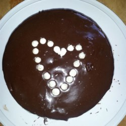Condensed Milk Chocolate Frosting Recipe - Get a rich chocolate frosting in a matter of minutes using chocolate, sweetened condensed milk, vanilla, and this easy recipe.