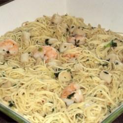 Angel hair pasta recipes lemon basil