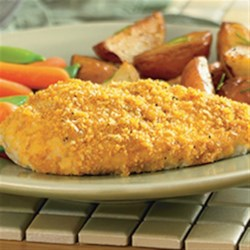 Crunchy Cheddar Chicken from Hidden Valley(R) Recipe - Add a savory twist to a weeknight staple and everyone will be asking for seconds.