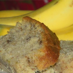 Sour Cream Banana Bread Recipe - Sour cream and 4 bananas make this loaf of banana bread moist and flavorful. It freezes well, too.