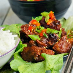 Spicy Grilled Boneless Pork Spare Ribs