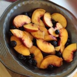 Kyra's Caramelized Peaches