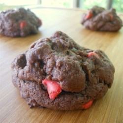 Double Coco Double Chocolate Chip Cookies (a twist on Toll House(R) cookies) Recipe - The classic Toll House(R) cookie recipe gets an extra chocolatey twist with the addition of cocoa powder to the batter creating decadent cookies the whole family will love.