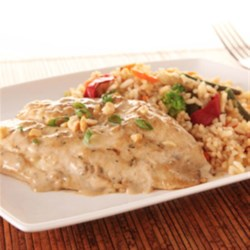KRAFT RECIPE MAKERS Baked Teriyaki Fish Recipe - Tilapia fillets, mixed vegetables, and rice are baked with delicious prepared sauces for a one-dish meal that's ready in 30 minutes.