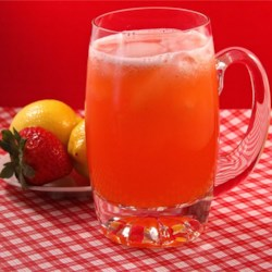 All Natural Strawberry Lemonade Recipe - Homemade strawberry lemonade is easily prepared with fresh strawberries, lemon juice, and sugar for a refreshing summer drink.
