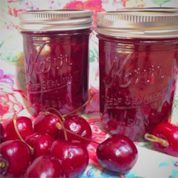Cherry Chutney Recipe - So many cherries are produced during cherry harvest that I created a savory recipe, because there's only so much cherry pie and ice cream one man can eat!