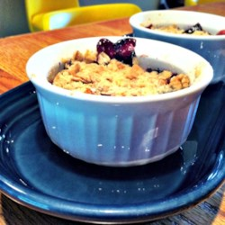Blueberry Apple Crisp