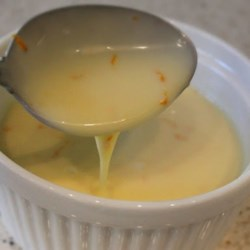 Creme Anglaise Sauce Recipe and Video - Rich and creamy creme Anglaise is perfect drizzled over fresh fruit, pound cake, or other desserts.