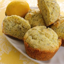 Babs' Lemon Poppy Seed Muffins Recipe - These mouth-watering lemon poppy seed muffins are always a hit!