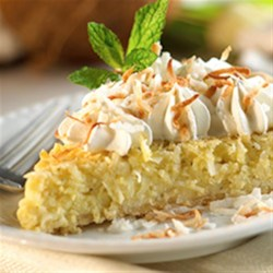 Coconut Cream Custard Pie Recipe - A sweet and creamy coconut pie will please everybody in the family, and it's so easy to make.