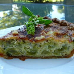 Broccoli and Cheddar Quiche ~ Recipe Group Selection:  10, August 2013