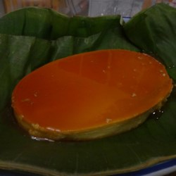 Almond Leche Flan Recipe - This flan's signature ingredients are condensed and evaporated milk and almond extract.