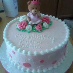 Paulina's first birthday cake