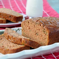Mom's Zucchini Bread Recipe and Video - A moist and delicious zucchini bread flavored with walnuts and cinnamon. Easy to bake and freeze, this recipe makes two loaves.
