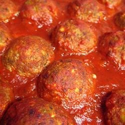 Vegetarian Sweet and Sour Meatballs Recipe - My mother first made these for me and now I made them all the time - incredibly delicious! Serve as a main course, an appetizer.. doesn't matter, they always taste great!