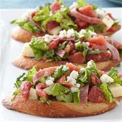 Chopped Salad Sub Sandwich