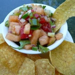 Cucumber Melon Salsa ~ Recipe Group Selection:  27, July 2013