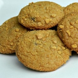 Easy Graham Cracker Cookies Recipe - Cookie dough is rolled in graham cracker crumbs and baked into a perfect combination of soft-in-the-middle and crisp-on-the-outside-style cookie.