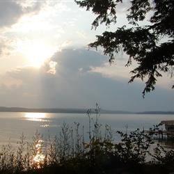 Elk Lake in the Dawn