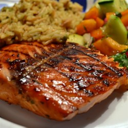 My Grilled Sweet Chili Salmon