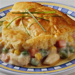 Easy Chicken Pot Pie from Bisquick(R) Recipe - Enjoy homemade chicken pot pie taste made extra easy. Use whatever ingredients you have on hand!
