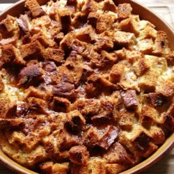 Raisin Bread French Toast Casserole Recipe - Cinnamon raisin bread is baked in a buttery egg mixture creating a delightful raisin bread French toast casserole the whole family will love. Serve warm with maple syrup.