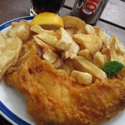 Fish and Chips-London, UK