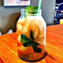 Southern Addiction Mint Julep Recipe - Southern Comfort(R) and peach schnapps deliver a new twist for the traditional mint julep that's perfect for derby parties.