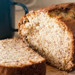 4H Banana Bread Recipe - This recipe makes a very moist loaf, owing to the addition of a little milk and a lot of banana.