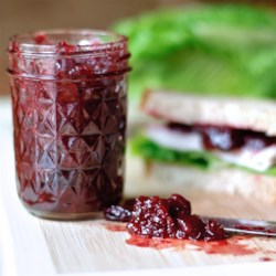 Festive Holiday Cranberry Relish Recipe - This festive cranberry relish is a great alternative to canned cranberry sauce for your Thanksgiving or Christmas dinner table.