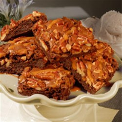 Caramel Pecan Brownies Recipe - Spruce up brownies with the easy addition of caramel and pecans, adding the perfect touch to a crowd pleaser.