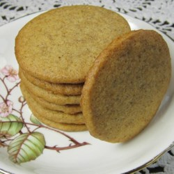 Ginger Snaps IV Recipe - You can prepare these cookies the day before baking them to save yourself time the next day. Your guests will think you were up all night cooking.