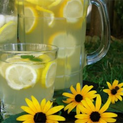 Party Lemonade Recipe - Lemons, sugar, ice and water can make a great crowd-pleasing lemonade in a pinch!
