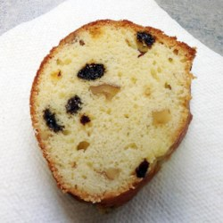 Orange Nut Raisin Cake
