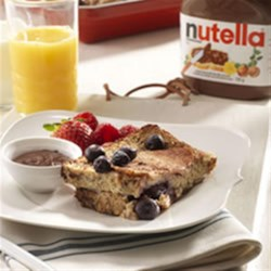 NUTELLA(R) French Toast Casserole Recipe - A fresh take on French Toast with the delicious taste of NUTELLA(R)!