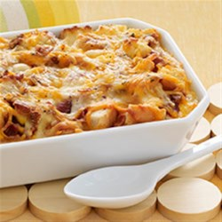 Cheesy Bacon Egg Brunch Casserole