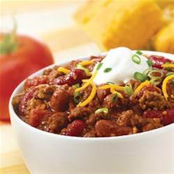 McCormick(R) Chili Recipe - McCormick(R) Chili Seasoning Mix is a zesty blend of authentic seasonings, including chili peppers, that makes preparing delicious chili a snap.