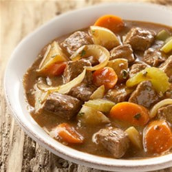 Slow Cooker Beef Stew by McCormick(R) Recipe - For an easy-to-prepare meal, use McCormick(R) Beef Stew Seasoning with beef cubes and vegetables in your slow cooker. The beef is deliciously tender and the vegetables are infused with a wonderful beef flavor.