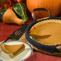 Kahlua(R) Pumpkin Pie Recipe - This pumpkin pie gets a kick from a healthy dose of coffee-flavored liqueur.