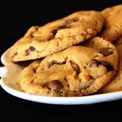 Peanut Butter Chocolate Chip Cookies III Recipe - Moist and chewy with the wonderful combination of chocolate and peanut butter.