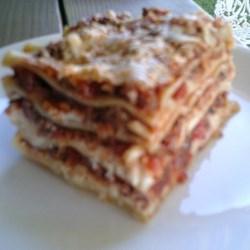 My Best Lasagna Yet