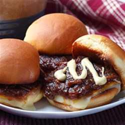 Onion Grilled Cheese Sliders