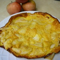 Apple Pancake Recipe - This fluffy, sweet apple pancake makes a quick and easy breakfast. It's so good, you could even serve it with a scoop of vanilla ice cream for a delicious dessert.