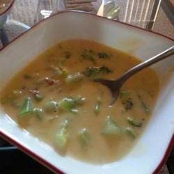 Broccoli Cheese Soup VII