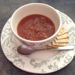 Quick, Homemade Hamburger Soup
