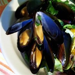 Steamed Mussels I Recipe - Simply mussels for a simply wonderful meal.