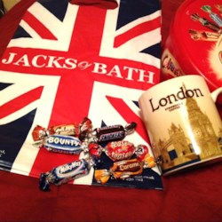 goodies & souvenirs from London