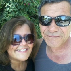 My wonderful husband and myself