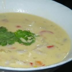 Coconut Conch Chowder